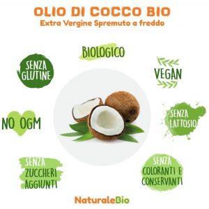 NaturaleBio olio di cocco Bio